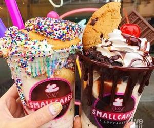sweet, food, and ice cream image