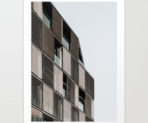architecture, wall art, and art print image