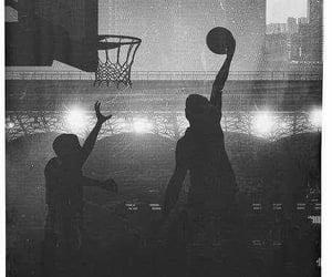 Basketball and bnw image