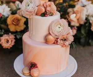 cake, cream, and sweet image