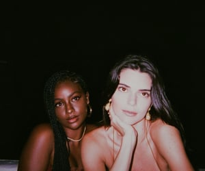 kendall jenner and justine skye image