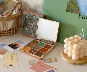 beauty, beige, and colour image