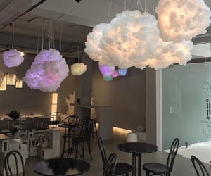 aesthetic, clouds, and coffee image