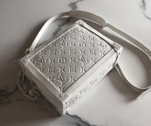 bag, white, and Louis Vuitton image