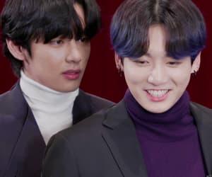 gif, taehyung, and taekook image