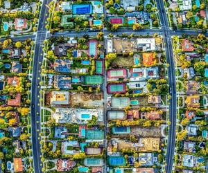 90210, aerial photography, and aerial view image