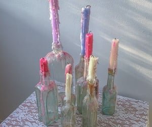 candle, aesthetic, and pastel image