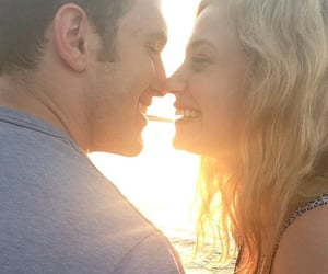couple, lili reinhart, and relationship goals image