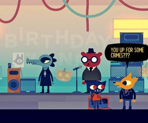 game, video game, and nitw image