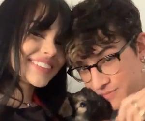 brandon arreaga, couple, and dog image