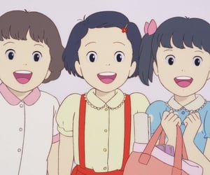 anime, friendship, and only yesterday image