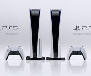sony and ps5 game console image