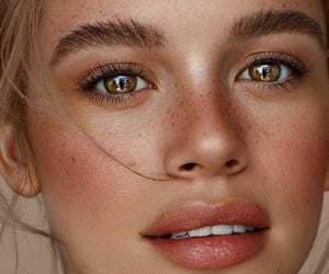 aesthetic, Foundation, and freckles image