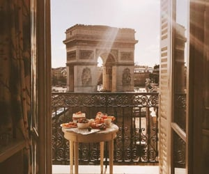 breakfast, city, and place image