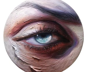 art, eye, and Oil Painting image