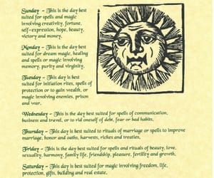 days, magick, and witch image