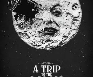 A Trip to the Moon, vintage, and georges méliès image