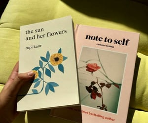 book, aesthetic, and rupi kaur image
