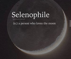 moon and selenophile image