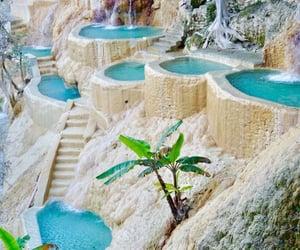 blue lagoon, location, and paradise image