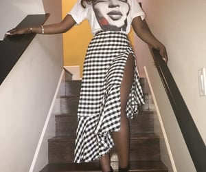 black women, feminine girly chic, and heels feminine image