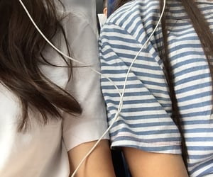 flight, girls, and music image