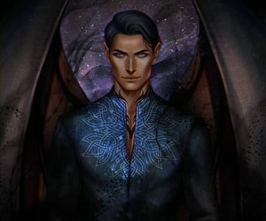 ️sjm, rhysand, and acotar image