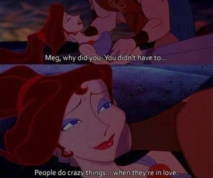 love, hercules, and disney image