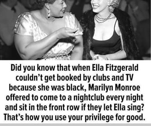 ella fitzgerald and Marilyn Monroe image