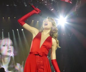 Taylor Swift, the lucky one, and red tour image