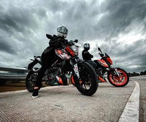 bikers, moto, and ktm image