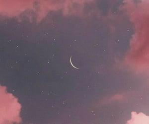 moon, natural beauty, and sky image