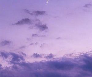 background, moon, and scenery image