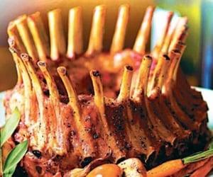 اكلات عربية, ضلوع خروف, and خضروات باللحم الخروف image