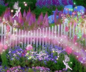 fairy, aesthetic, and glitter image
