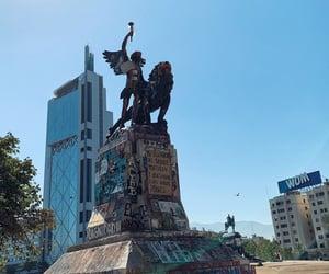 chile, city, and protesto image
