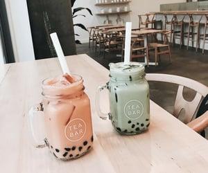 aesthetic, drinks, and boba tea image