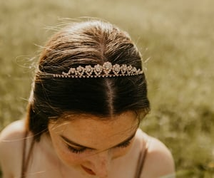 crown, freckles, and golden image