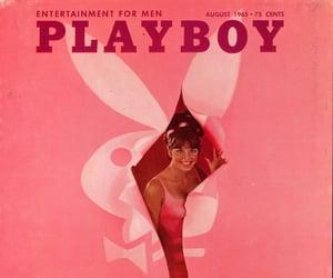 pink, Playboy, and vintage image