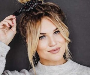 bangs, haircut, and beauty image