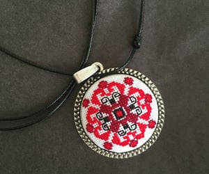 etsy, woman fashion, and ethnic necklace image