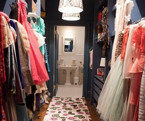 closet, clothes, and sex and the city image