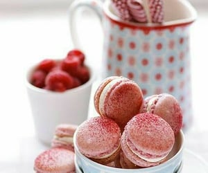 dessert, sweet, and macaroon image