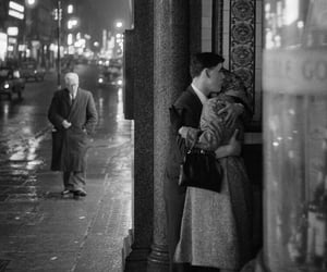 couple, vintage, and black and white image