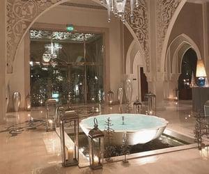 aesthetic, Dubai, and fountain image