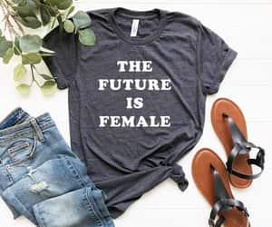 etsy, feminist shirt, and gift for feminist image