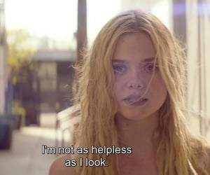 Elle Fanning, pretty, and quotes image