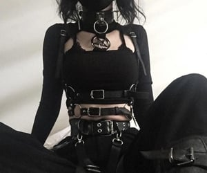 goth and aesthetic image