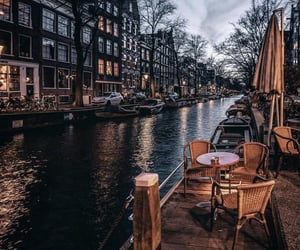 amsterdam, cafe, and netherlands image