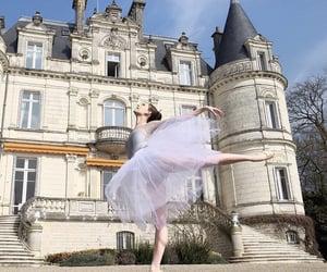 castle, dancer, and ballerina image